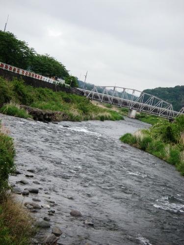 中津川平山橋上流